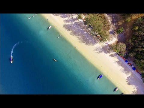 James Bond Phang Nga Bay Islands Thailand DJI Drone