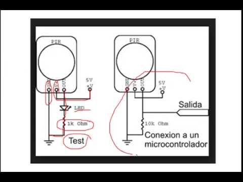 Sensor de movimiento como se conecta y prueba youtube - Como conectar un sensor de movimiento de tres cables ...