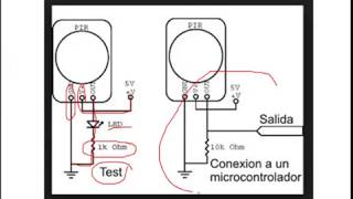 Sensor de Movimiento (Como se conecta y Prueba)