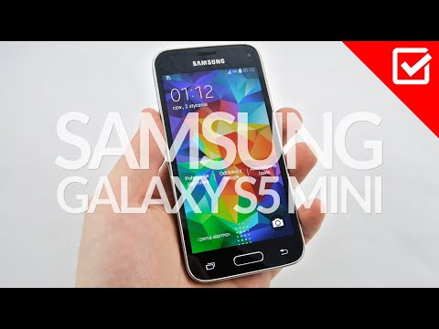 Samsung Galaxy S5 mini Unboxing PL Przegląd Prezentacja