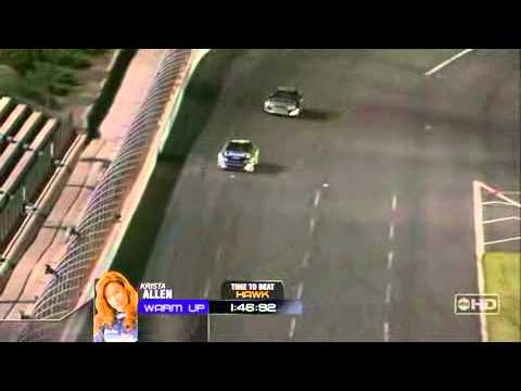 Amazing Krista Allen on Fast Cars & Super Stars w Jimmie Johnson