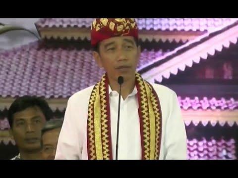 """Kesal 4 Tahun Difitnah, Jokowi: Mau Saya """"Tabok"""""""