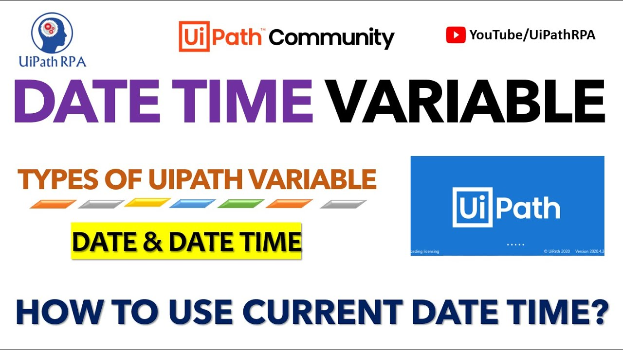 Uipath date without time