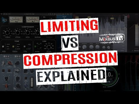 Limiting vs Compression in Mixing Explained