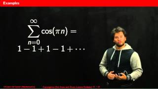 How to choose a convergence test for infinite series