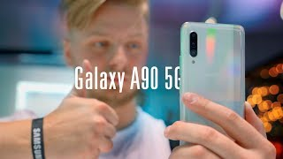 «Недорогой» Galaxy A90 5G со Snapdragon 855!