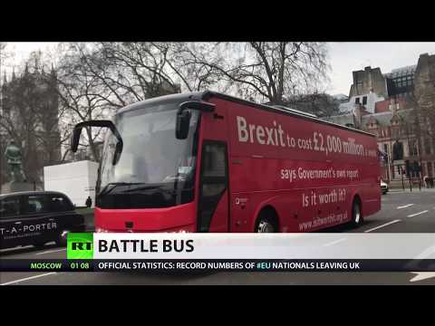 Oxfordshire Council 'bans' anti-Brexit bus from parking in city centre