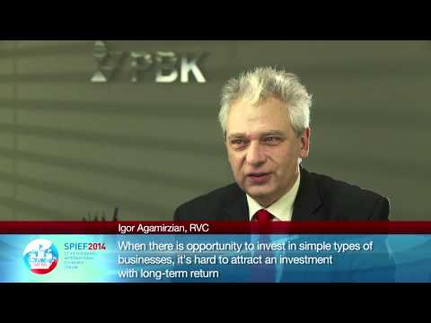 Igor Agamirzian, General Director, Chairman of Board, Russian Venture Company OJSC (part I)