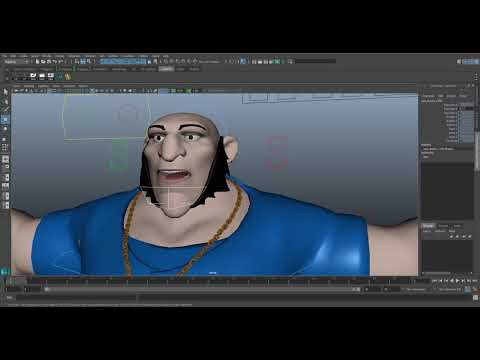 Maya Rigging Showreel 2018