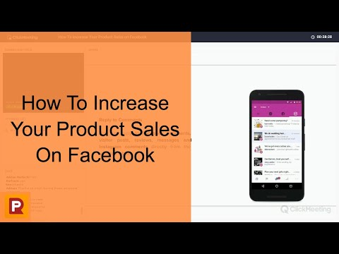 How To Increase Your Product Sales on Facebook