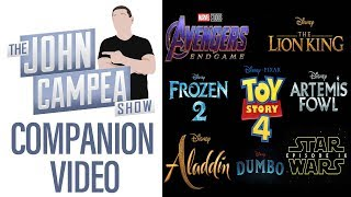 2019 Will Have Most Billion Club Movies In History - TJCS Companion Video