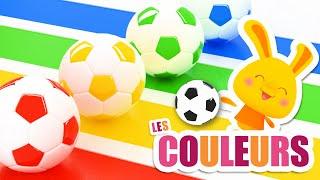 COULEURS - Les ballons de Football - Titounis