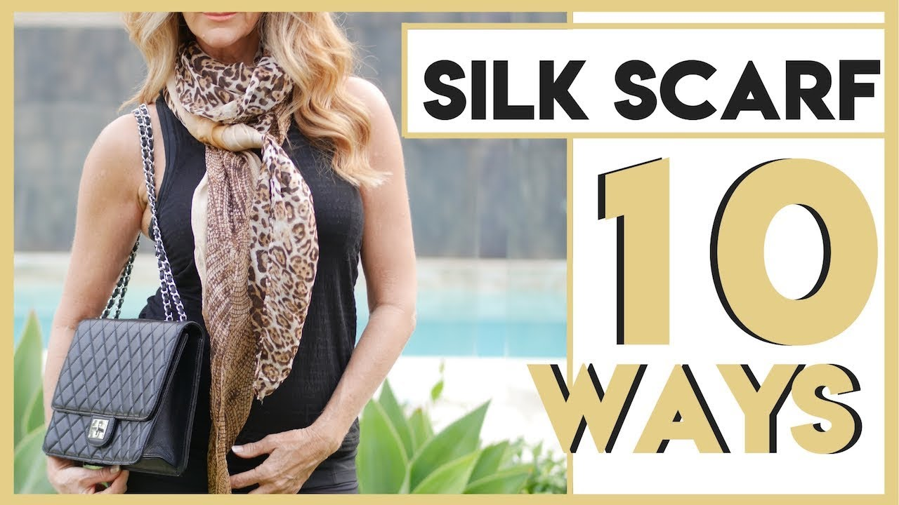 1718614f1ce6 How To Style A Silk Scarf