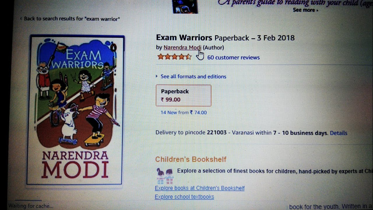 Pm Modis Book Exam Warriors  Is It Worth To Buy   Youtube Pm Modis Book Exam Warriors  Is It Worth To Buy