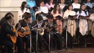 Coro Santa Clara de Sucre-Bolivia. La Huerfana Virginia (Cueca). Simeón Roncal (1870 - 1953)