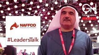 #LeadersTalk with the CEO of NAFFCO, Khalid Al Khatib