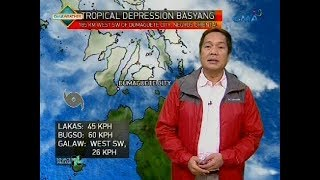 Weather update as of 6:00 a.m. (February 14, 2018)