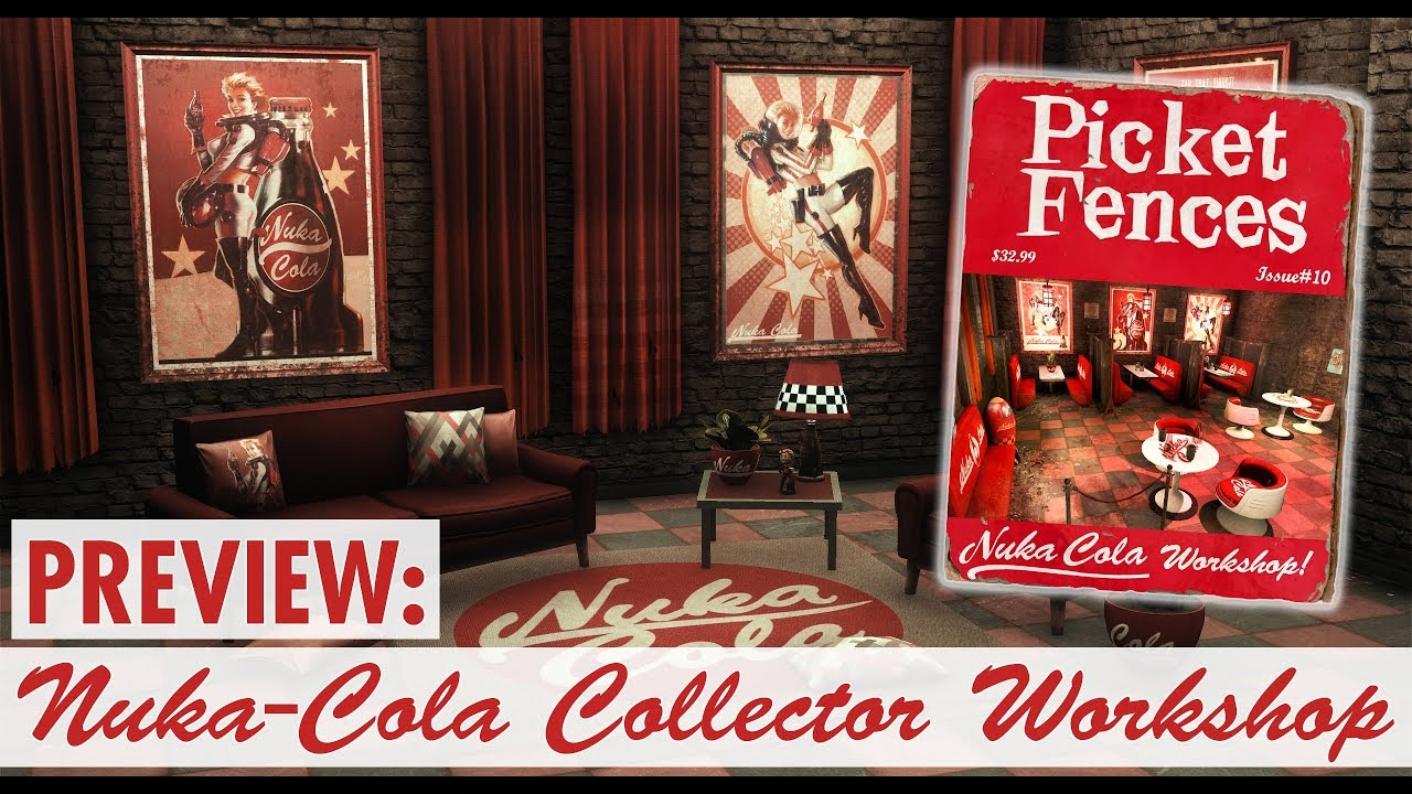 Creation Club: Nuka-Cola Pack Preview AND THE NUKA BOY LOCATIONS REVEALED  ALSO SPOILERS