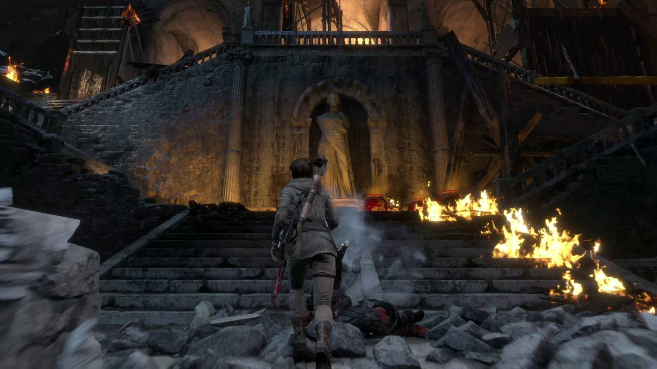 rise of tomb raider gameplay