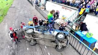 Шоу каскадёров Геннадия Кочерга во Владимире 2017(съёмка на квадрокоптер) Stunt show in Vladimir