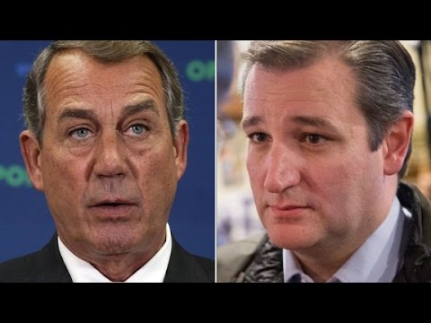 Ted Cruz reponds to John Boehner calling him 'Lucife...
