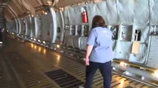 Inside the Presidential C 5 Aircraft Low