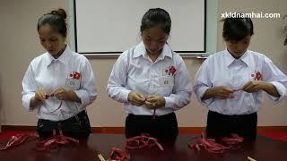 Thi tuyển tay nghề nữ đi xuất khẩu lao động Nhật Bản