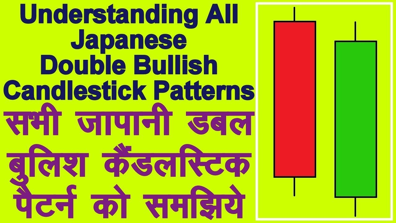 Understanding all japanese double bullish candlestick patterns analysis technical in hindi also rh youtube
