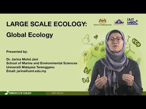 UMTMOOC - Large Scale Ecology : Global Ecology