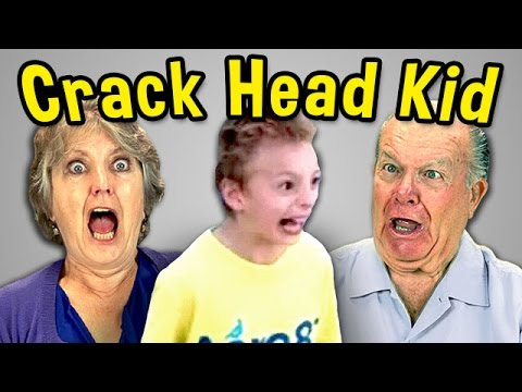 Elders React to Crack Head Kid - YouTube