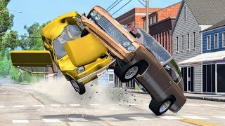 Realistic High Speed Crashes #20 - BeamNG Drive
