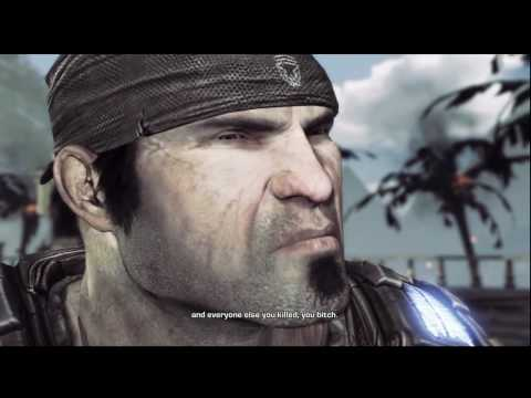 Gears of War 3 - Ending Cutscene - Knife Explained / Bonus Clip - HD 720