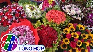 THVL | Giá hoa tươi trước ngày lễ 20/10 tăng mạnh