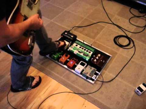 L.A. SOUND DESIGN ANDY SUMMERS INSPIRED PEDALBOARD