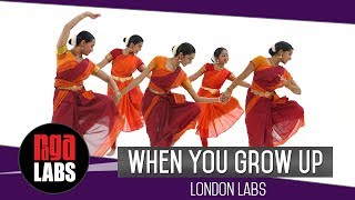 When You Grow Up: Indian Classical Dance Presentation by London Labs