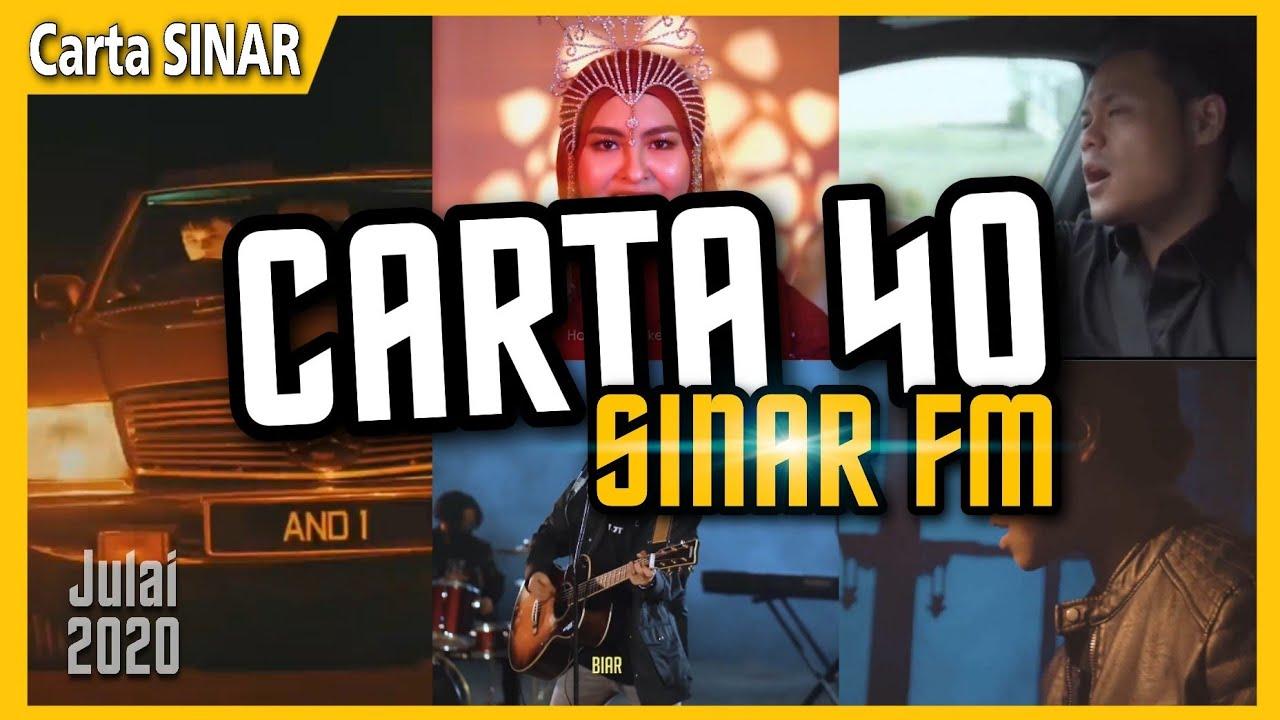 Download 40 Lagu TERPILIH Carta Sinar | Lagu Melayu Terkini | Carta Sinar FM (Julai 2020)