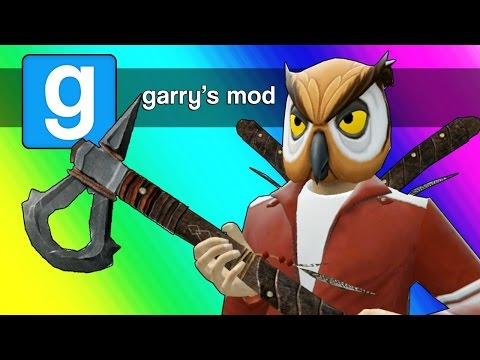 Thumbnail: Gmod Axe Roulette! (Garry's Mod Sandbox Funny Moments)