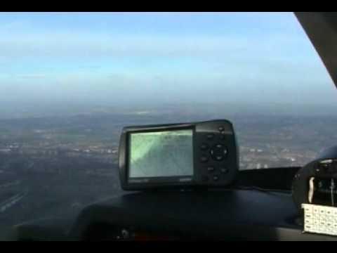 Robin 200 Aircraft From Leeds Bradford airport.mpg