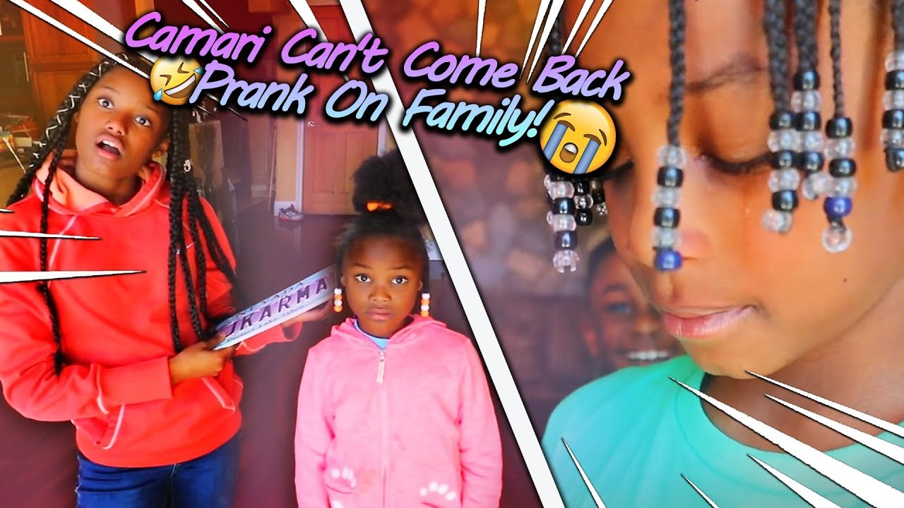Camari Can't Come Back Prank On Family! (She Actually Gets To Stay Longer)