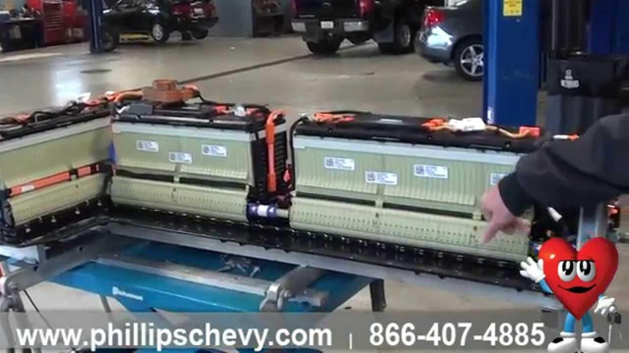 Phillips Chevrolet - Chevy Volt - Battery Pack - Chicago ...