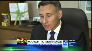 Jane & Pete-e are getting married News Clip (Dec 3rd, 2012)