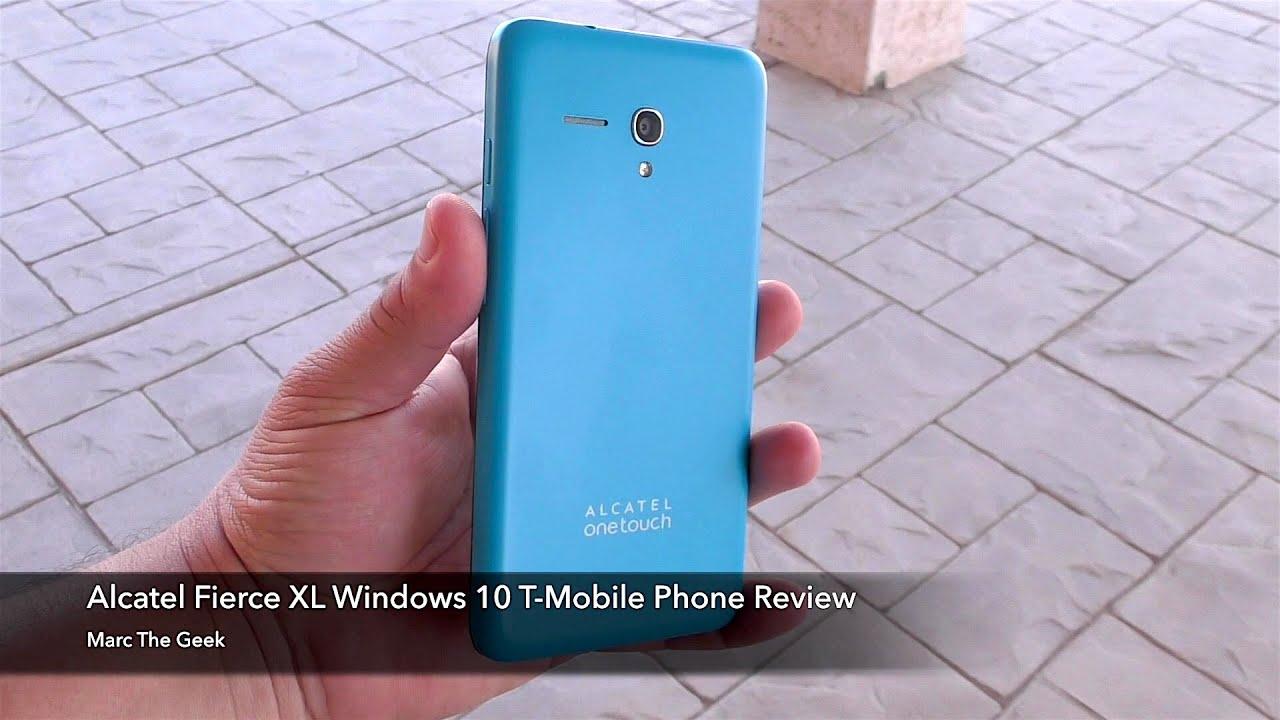 Alcatel Fierce XL Windows 10 T-Mobile Phone Review