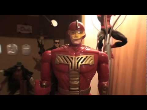 Turmoil In The Toybox - Tiger Electronics Turbo Man Figure from Jingle All The Way