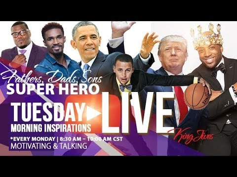 LIVE!! 🔥 7/25/17 Tuesday Morning Inspiration - Matthew Stevenson, Ronzell Pretlow, Obama, Trump‼️