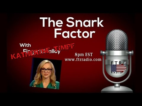 02-05-15 Kat Timpf on The Snark Factor - Incoherently Mixing Comedy & Politics