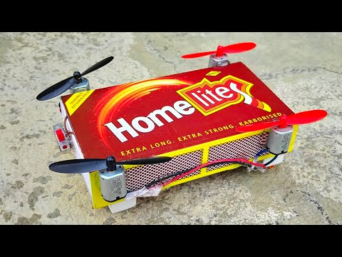 How To Make Quadcopter Car Matchbox Helicopter Toy Diy