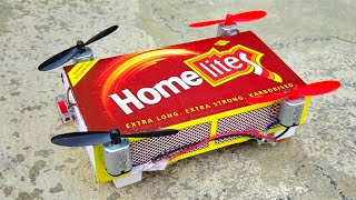 how To Make Drone Matchbox Drone Toy Diy | How To Make Helicopter Matchbox Helicopter Toy Diy