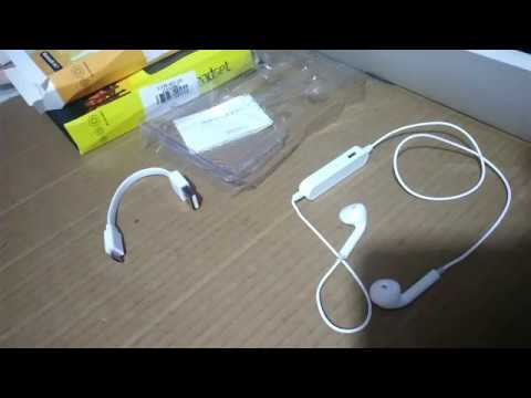 d4a744f1cbd Audífonos Bluetooth tipo earpod - YouTube