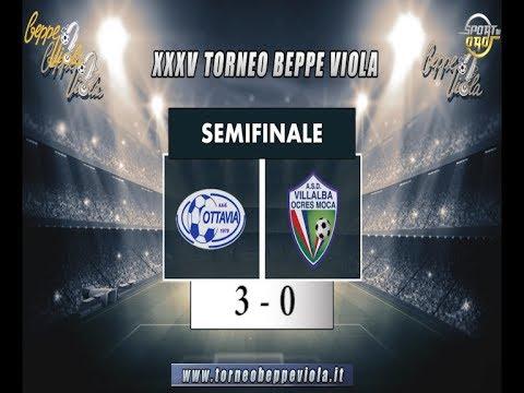XXXV Beppe Viola, Semifinale: Ottavia - Villalba 3 - 0