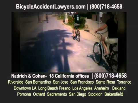 California Bike Accident Lawyer faq's (pt. 2) | Nadrich & Cohen (800)718-4658